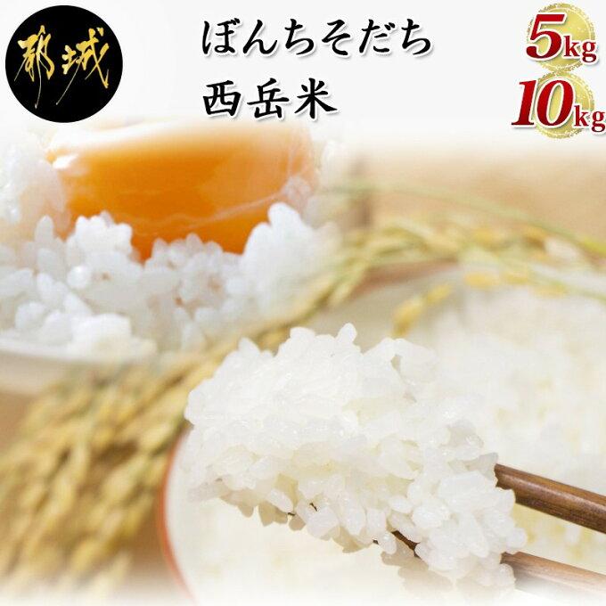 【ふるさと納税】都城産ひのひかり特別栽培米「ぼんちそだち」・「西岳米」のセット - ...