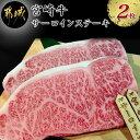 【ふるさと納税】都城産宮崎牛サーロインステーキ2枚合計440g(A5) - A5ランク サーロインス