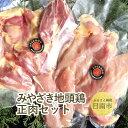 【ふるさと納税】 みやざき地頭鶏 正肉セット みやざき地頭鶏...