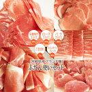 【ふるさと納税】ブランド豚宮崎県産豚普段使いセット3kg大容量豚肉ヒレとんかつバラスライスローススライスモモウデ生姜焼き用スライスこま切れ国産冷凍小分け詰め合わせ送料無料