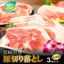 【ふるさと納税】<宮崎県産豚切落し3kg(500g×6パック...
