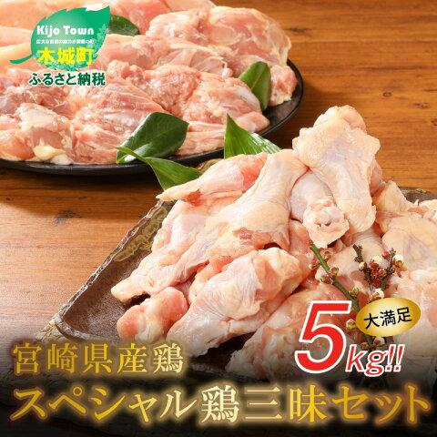【ふるさと納税】宮崎県産鶏 スペシャル鶏三昧5kgセット ...