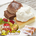 【ふるさと納税】人気の新食感!とろける生チーズケーキ(プレー...