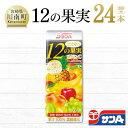【ふるさと納税】サンA1日分の12の果実24本セット