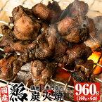 【ふるさと納税】鹿児島の鶏刺し専門店の炭火焼 160g×10袋 計1.6kg【末永商店】