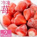 【ふるさと納税】冷凍いちご(1000g×2・計2,000g)...