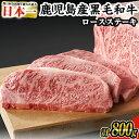 【ふるさと納税】日本一の牛肉!鹿児島県産黒毛和牛ロースステー...
