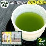 【ふるさと納税】煎茶つめ合わせ☆「天翠」☆「山城」【天水製茶】A-068