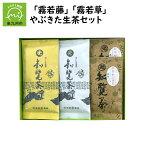 【ふるさと納税】心潤す光印の後岳知覧茶「霧若藤」「霧若草」やぶきた生茶セット