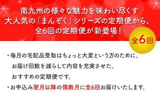 【ふるさと納税】南九州まんぞく定期便ハーフ