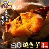 【ふるさと納税】鹿児島県産冷凍焼き芋安納芋3kg【甘いも販売所】