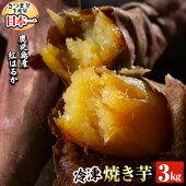 【ふるさと納税】鹿児島県産冷凍焼き芋紅はるか3kg【甘いも販売所】