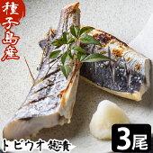 【ふるさと納税】トビウオ麹漬3尾(12カット)