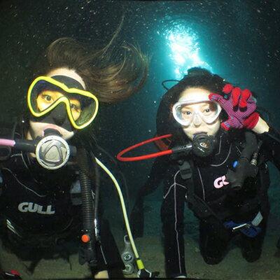 【ふるさと納税】ボートで行く『青の洞窟&クマノミポイント』本格!体験ダイビング2本(2名様)