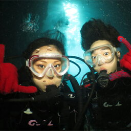 【ふるさと納税】神秘!『青の洞窟』体験ダイビング ボートクルーズ付き(3名様)