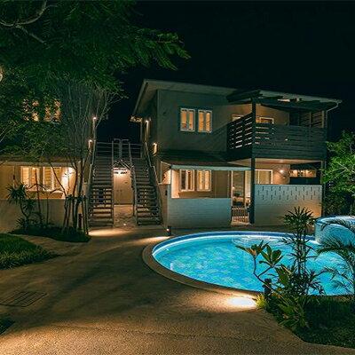 【ふるさと納税】MAEDA BEACH HOTEL 1棟貸しVilla宿泊券 1泊10名様