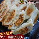 【ふるさと納税】キンアグー 大人気!!アグー豚餃子 100個