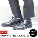 ビジネスシューズ 紳士靴 仕事靴 黒 スニーカー ウォーキングシューズ モカシン Uモカ ブラック メンズ EDWIN エドウィン ブランド 24.5 25 26 27 28 edm002