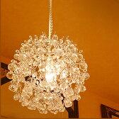 シャンデリア ベリーベリーランプ 1灯 プチ シャンデリア 姫系シャンデリア LED電球対応 アンティーク調 シャンデリア