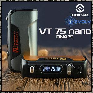 【電子タバコVAPE】【Hcigar】【ハイスペックBOXMOD】【米EVOLV社製DNA75搭載MOD】HcigarVT75Nano