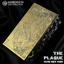 【電子タバコ VAPE 】【 ASMODUS アスモドス アスモダス プラーク 】【 バッテリー2本タイプ 】【 designed by USA 】 ASMODUS AoS Edition Plaque 150W Box Mod GOLD