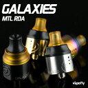 vapefly おまけつき ギャラクシーズMTL リビルダブルアトマイザー RBA RDA ドリッパー 22mm シングルデッキ BF対応 Galaxies MTL RDA