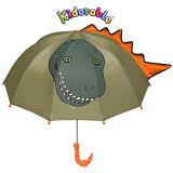 キドラブルKIDORABLE 恐竜子供傘 ダイナソーアンブレラ 子供傘 かいじゅう 立体傘 キッズ 子供 キャラクター傘 正規品 プレゼント ギフトサービス キッドラブル 誕生日祝