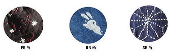 【泡づけ本舗】藍染調二層竿袋 SB柄 130cm