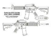 BWC: ブローバックモデルガン COLT M4A1 カービン【エアガン,エアーガン,18歳以上,おもちゃ,銃,トイガン】
