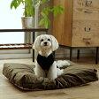 【犬 ベッド】お手入れ簡単 ウォッシャブルリネンベッド M