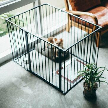 スチール製 Scandinavian Pet Design小型・中型犬用サークル 6枚セットスカンジナビアンペットケージXL北欧 ドッグサークル ドッグケージ ペットケージ ペットサークル おしゃれ