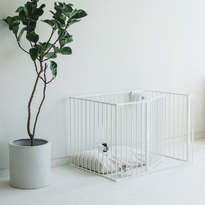 スカンジナビアンペットケージXL 6枚セットスチール製 Scandinavian Pet Design小型・中型犬用サークル ペットケージ ペットサークル 北欧 ドッグサークル ドッグケージ おしゃれ 犬 ケージ 犬 サークルの写真