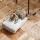【猫 ベッド】ハードマンズ フレンチ リネン スクエア ベッド S猫 ベッド ペットベッド あったか 角型ペットベッド S 猫ベッド ペット用ベッド