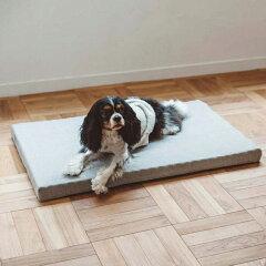 【犬 ベッド】お手入れ簡単 コットンジャージ デュアルウェーブベッド M[free stitch]