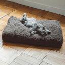 シンプル シープ ボア フリース ベッド Mサイズ 猫用