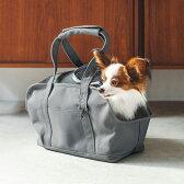 【犬 キャリーバッグ】スクエアトート Sサイズ キャリーバック carry bag free stitch
