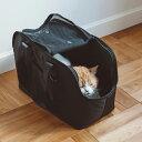 【猫 キャリーバッグ】バルコディ スクエア トート Mサイズねこ ネコ キャット キャリー キャリーバッグ バッグ かばん 通院 病院 電車 公共機関 車 シンプル おしゃれ 日本製 日本 メッシュ 肩掛け トート トートバッグ 人気 その1