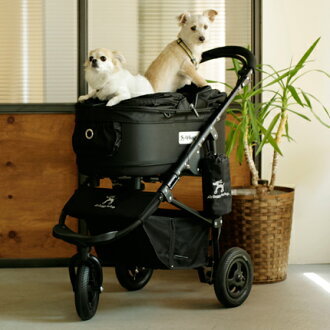 Dog Buggy Black And Gold