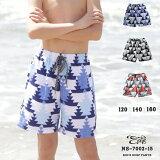 【ラストサマーセール】 水着 男の子 海水パンツ ネイティブ柄 サーフパンツ ns-7002-15