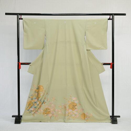 着物レンタル 色留め袖 レンタル 色留袖 結婚式 親族 列席者 貸衣装 フルフル お呼ばれ 緑