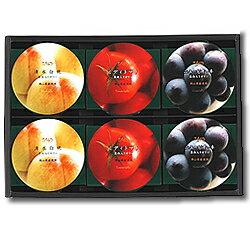 まるごと完熟ミディトマトゼリーまるごと清水白桃ゼリーまるごとニューピオーネゼリー各2個・計6個入り
