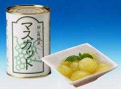 厳選したマスカットオブ アレキサンドリアでつくった果物王国の缶詰「マスカット」