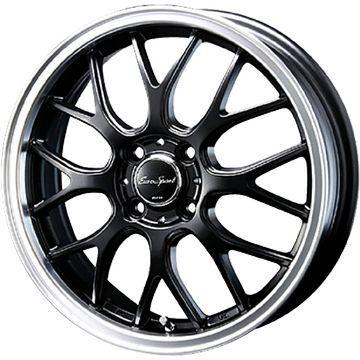 タイヤはフジ  BLEST ブレスト ユーロスポーツ タイプ805 5J 5.00-16 KUMHO エクスタ HS51 165/50R16 16インチ サマータイヤ ホイール4本セット
