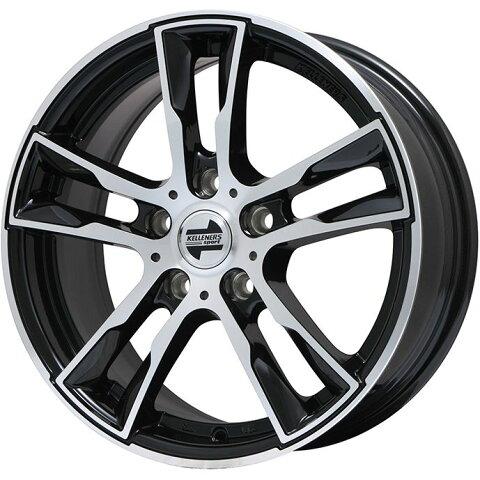 【送料無料 BMW3シリーズ(F30)】 225/45R18 18インチ KELLENERS ケレナーズスポーツ ケレナーズJr E5(ブラックポリッシュ) 8J 8.00-18 PIRELLI ドラゴンスポーツ サマータイヤ ホイール4本セット 輸入車