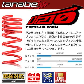 サスペンション, サスペンションキット  TANABE DF210 (20082015 20 ANH20W)
