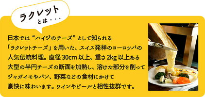 【レンタル開始】三好式ラクレットオーブンFJ-01レンタル[北海道/グルメ/チーズ/グリル/ワイン/ビール/ハイジ/スイス/新作/人気/レストラン/洋食/]