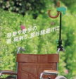 シルバーカー・車椅子用傘スタンド〔カートさすべえ〕
