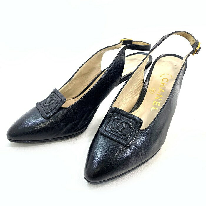 CHANEL Shoes Women 22cm 35 CHANEL COCO
