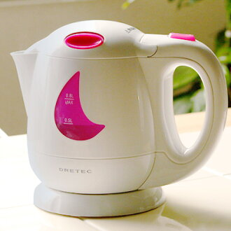 ドリテック electric kettle pink PO-307PK /GP10