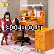 学習机勉強机ヒーロー90(アリス)-GKA(デスクカーペット付)学習デスク子供机勉強デスクシステムデスクPCデスクパソコンデスク子供子供部屋シンプル椅子無垢くみかえワゴン付